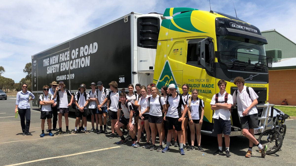 Volvo Ata Safety Truck Australian Trucking Association