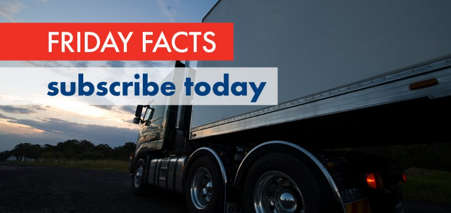 Friday Facts, subscribe today