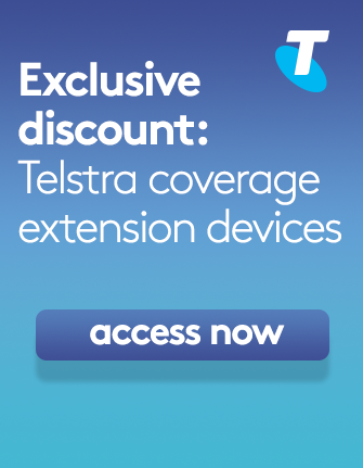 Exclusive discount: Telstra coverage extension devices